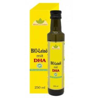 BIO-Leinöl mit DHA und EPA (vegan)