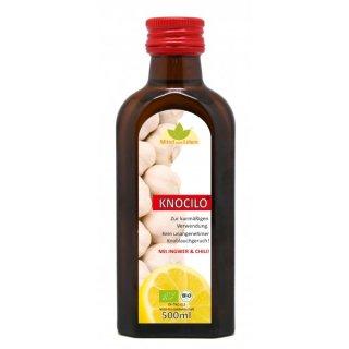 Knocilo® Knoblauch-Ingwer-Zitrone BIO Öl 250ml