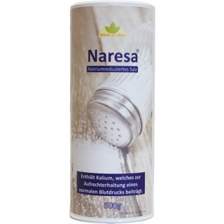 Naresa® 500g Salz 50% Kalium 50% Natrium Salz - Blutdruck